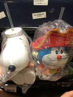 Doraemon, Snoopy