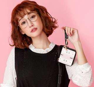 🚚 PLAYBOY- Sweet Girl 甜蜜粉躍兔系列-附贈的零錢包