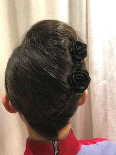 🚚 🌸空姐🌸地勤🌸服務業🌸表演工作者  盤髮專用玫瑰夾