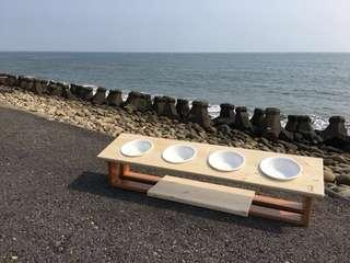 簡約風北歐實木餐桌