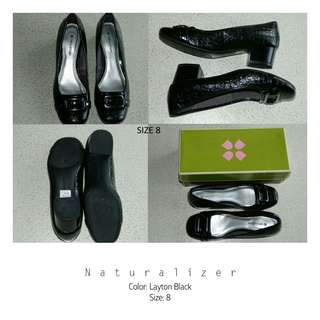 Layton Black Heels