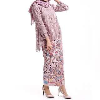 Abia Top & Pale Lavender Skirt