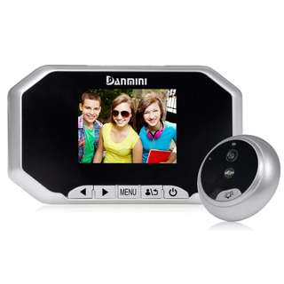 "2.4""/3.0""/3.2""/3.5"" LCD Color Screen Doorbell Viewer Digital Door Peephole Viewer Camera Wireless Door Eye Doorbell Color Camera"