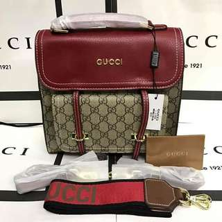 Gucci Soft GG Supreme Backpack 3in1