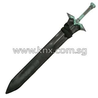 In Stock – AMS 0077 – Sword Art Online Kirigaya Kazuto Dark Repulser Sword