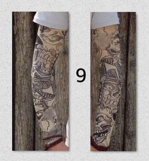 Brand New 3D Skin Tattoo Arms Sleeve