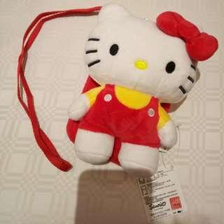 Kitty 造型觸控手機套/包 附吊繩
