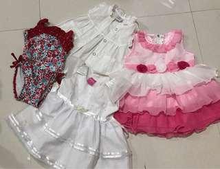 Take all:Preloved Baby Dress