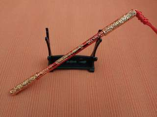 18cm Monkey God Ruyi Jin Gu Pang Protection Rod with rod stand