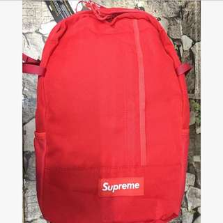Sale!!!! Authentic Quality Supreme Backpack (Red)