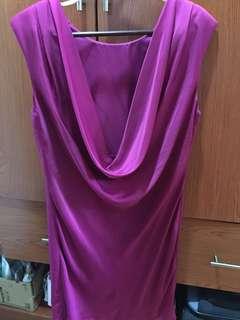 F21 Low Back Semi Formal Dress