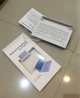 Bluetooth Keyboard for 8 inch tablet / iPad