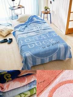《日本直送》迪士尼 唐老鴨 Donald Duck 100%綿 毛巾被/午睡毯