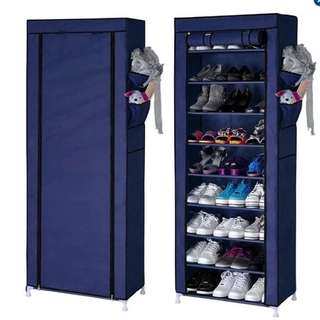 PLAIN 9 LAYER SHOE RACK CABINET