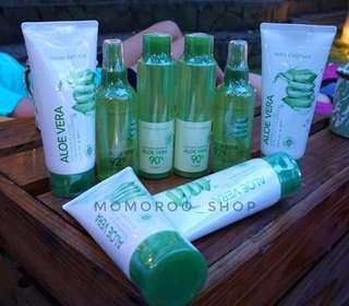 NATURE REPUBLIC SOOTHING GEL, MIST, TONER, CLEANSER FOAM