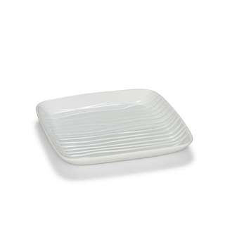 S&P Groove square white platter 38cm