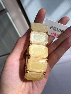 🚚 BN eQuip Gold Shimmer Bracelet