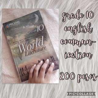Grade 10 English Communication