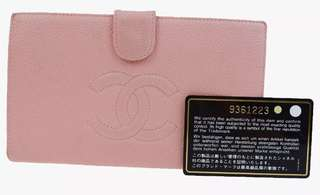 法國中古Chanel long wallet