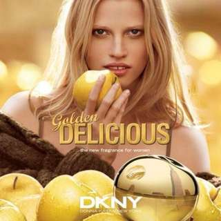 DKNY Golden Delicious perfume & shimmer lotion