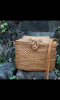 Rattan Bag Limited edition