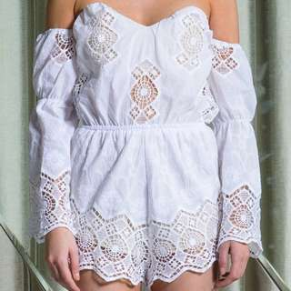 Size L/12 Asilio When Love Comes Knocking Playsuit