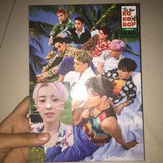 album EXO KOKOBOP ver.B -pc Park Chanyeol