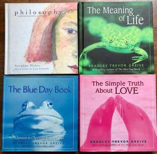 Inspirational quotes #Suzanne Maher #Bradley Trevor Greive #Philosophy #Meaning of Life #The Blue Day Book #The Simple Truth about Love