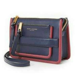 Genuine Marc jacobs Madison Cross Body Bag in Blue