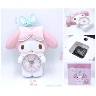 My melody wall clock with pendulum mouse