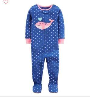 🚚 *12M* Brand New Carter's Snug Fit Cotton PJs For Baby Girl #CarouPay