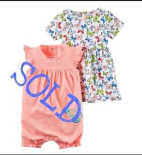 🚚 *24M* BN Carter's Dress For Baby Girl #CarouPay