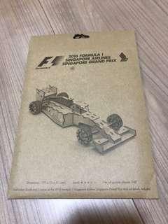 2016 Formula 1 Singapore Grand Prix Car Model
