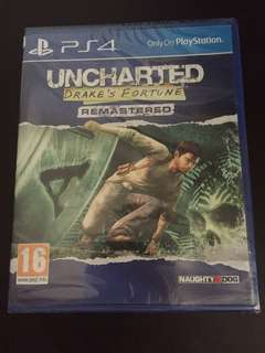 PS4 Uncharted Drake's Fortune Remastered (New)