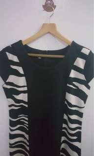 Black shift dress- nice fit