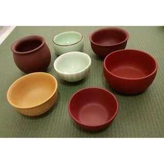 Vintage Chinese teacups