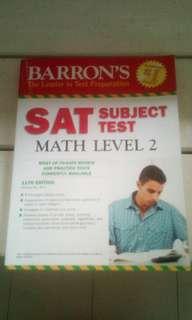 SAT subject test ( Math level 2 ) 11 edition
