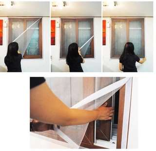 🚚 Mosquito screen w Velcro (customizable)