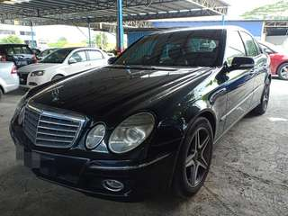 Mercedes benz E200 Kompressor Thn 2008,CAR KING‼️ONE OWNER‼️