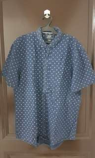 Rope Blue Buttondown Polo