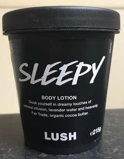 🚚 Lush Sleepy Lotion 215g 7.4 oz