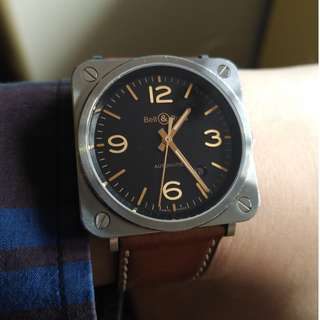 Bell & Ross BRS92 Golden Heritage
