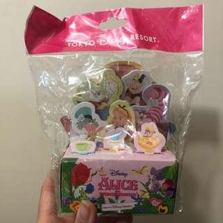 Tokyo Disneyland Alice in Wonderland Memo Pad 愛麗絲便條