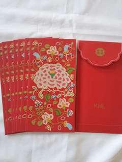 8 pcs *KHL* Red Packet / Ang Pow / Hong Bao / Ang Pao