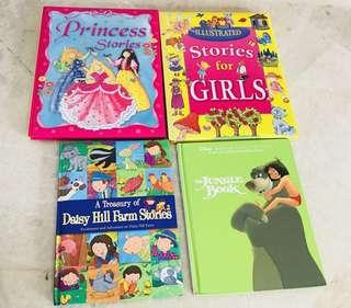 Hard cover books for children