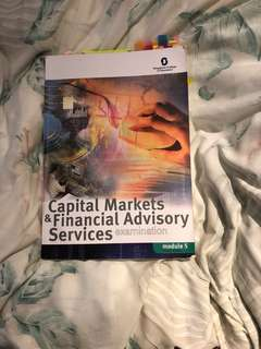 Capital markets and financial advisory services-Module 5