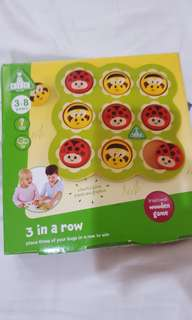 Elc wooden games 3 in a row