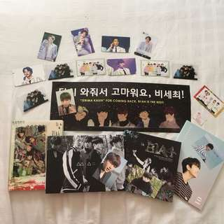 B1A4 Official / Unofficial Merchandise Set
