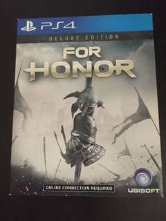 PS4 For Honor Deluxe Edition (Used)