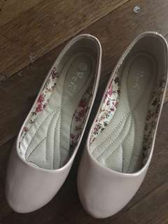 Nude Flat Shoes, Size 37